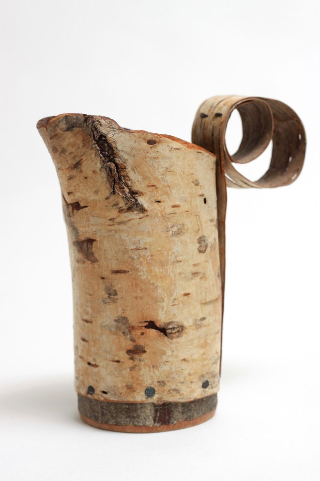 Silver-birch-bark-Jug